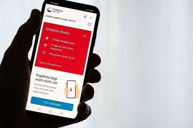 Was ist zu tun, wenn die Corona-App auf Rot springt?