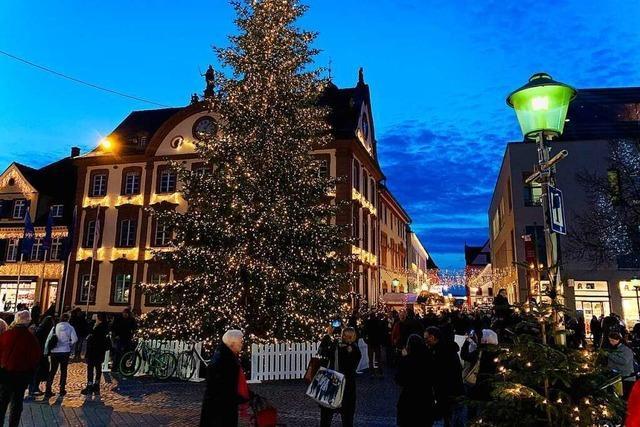Grüne Gemeinderäte kritisieren Weihnachtsmarkt-Pläne in Offenburg