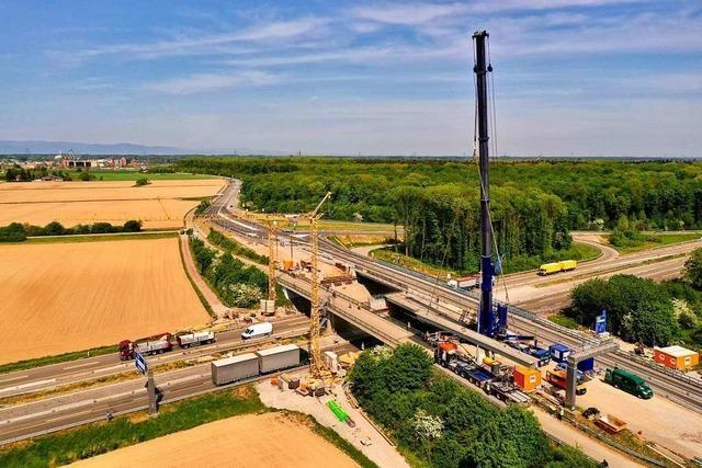 Der Autobahnanschluss bei Rust ist fertig