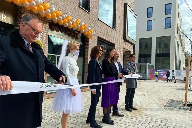 Juwelier ist der Erste im neuen Offenburger Einkaufsquartier Rée-Carré