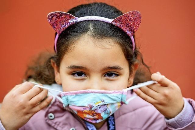 Sollen Grundschüler Masken tragen?
