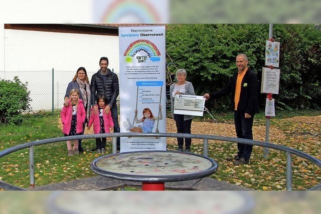 Tourismusverein unterstützt Spielplatzinitiative