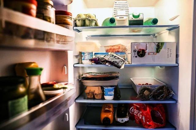 Im Kühlschrank ist noch Licht