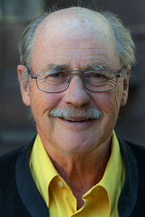Der frühere Regierungspräsident Sven v...18 Jahre als Vorsitzender des Vereins.  | Foto: Münsterbauverein