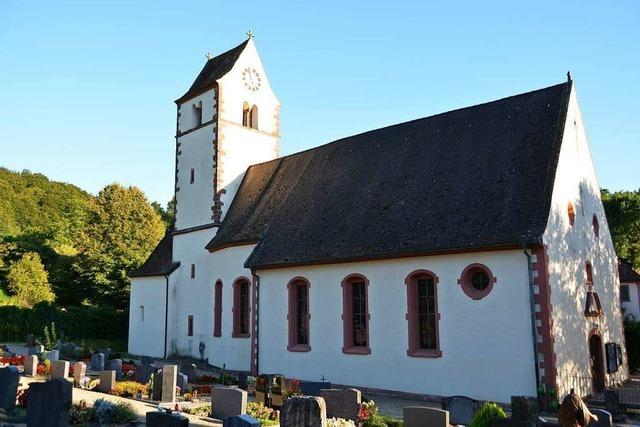Die Kapelle St. Vinzenz in Liel ist unscheinbar, aber sehr sehenswert