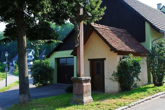Wo im 30-jährigen Krieg eine Bäuerin überfallen worden sein soll, steht heute in Merdingen eine Kapelle