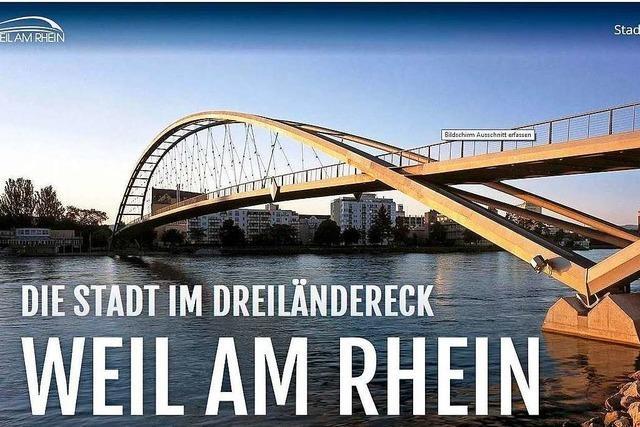 In den Internetauftritt der Stadt Weil am Rhein ist viel Leben gebracht worden