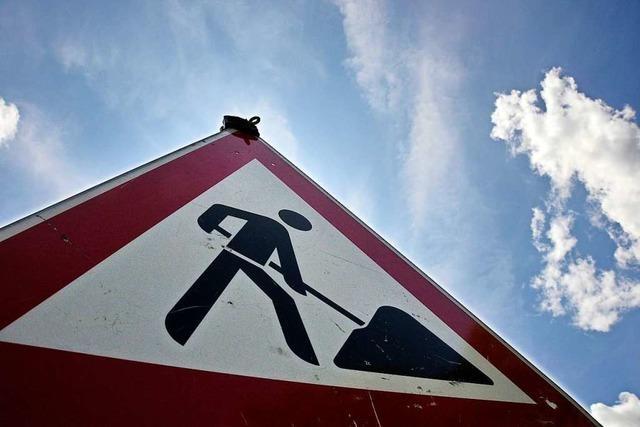 Die Straße Dossenbach- Schwörstadt ist ab Montag gesperrt