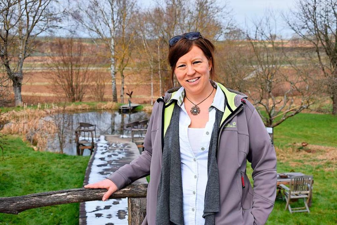 Simone Eichner-Eller kümmert sich im Verein Tina um die Öffentlichkeitsarbeit.    Foto: jtr