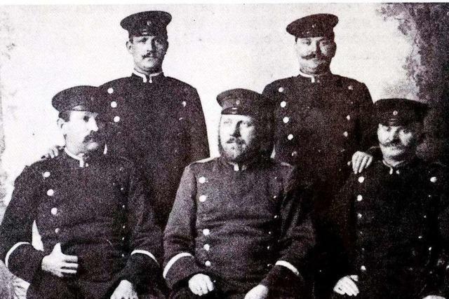So sah der Alltag der Waldkircher Polizei vor dem Ersten Weltkrieg aus