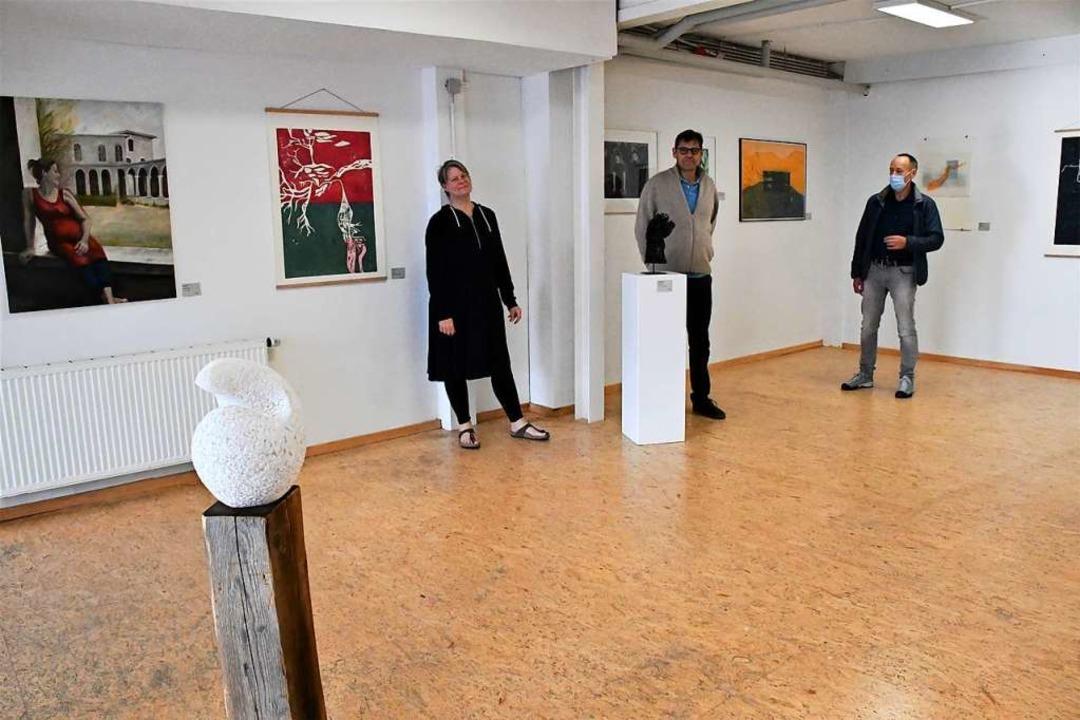 In der Galerie regardez läuft eine neue Ausstellung  | Foto: Barbara Ruda
