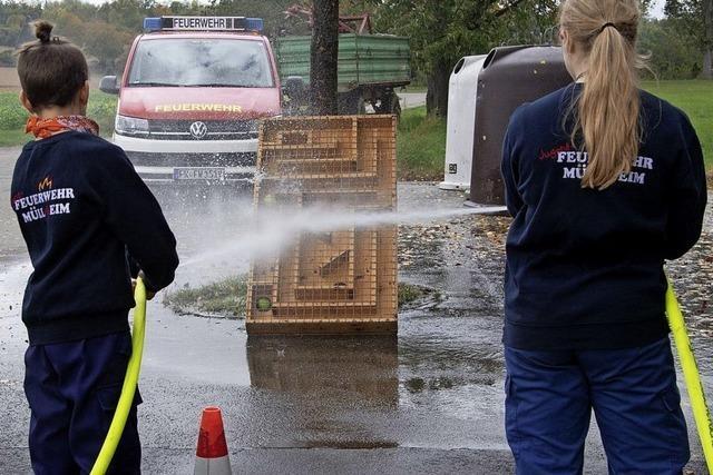 Eine Rallye für den Feuerwehrnachwuchs