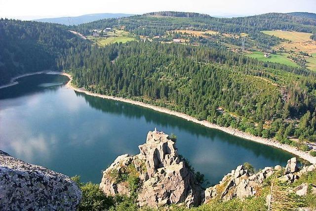 Der Lac Blanc im Kaysersberger Tal bietet Freizeitspaß zu jeder Jahreszeit