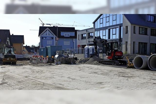 Sanierung der Ortsmitte bis Ende des Jahres fertig