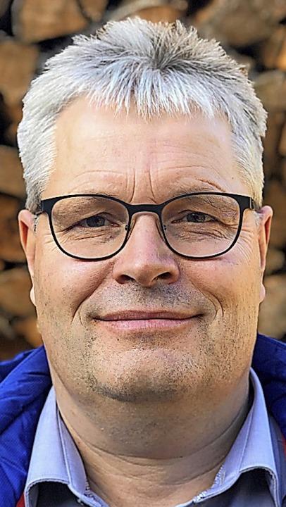 Mit Leib und Seele Vorsitzender des SC Langenordnach: Andreas Heizmann   | Foto: BZ