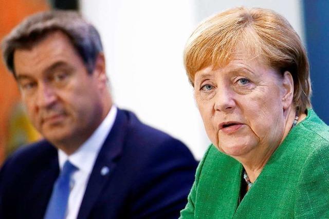 Bund und Länder beraten über Lockdown-Strategie