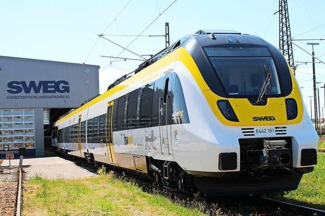 Neue Züge der Breisgau-S-Bahn sollen leiser sein