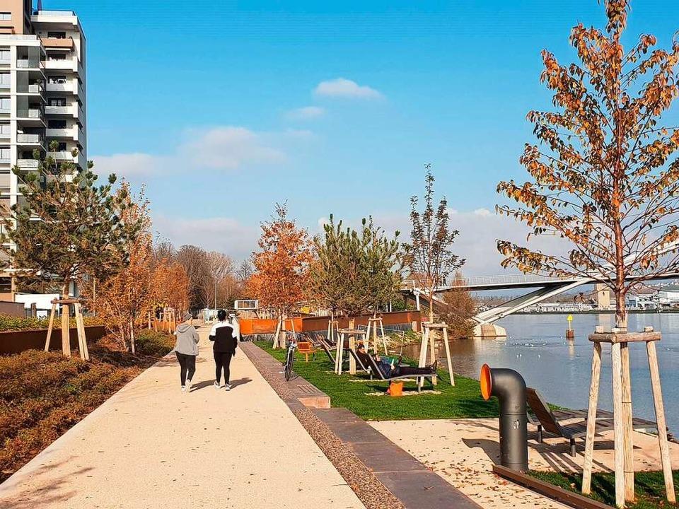 Die Promenade am Rheinufer  | Foto: Magdalena Kaufmann-Spachtholz