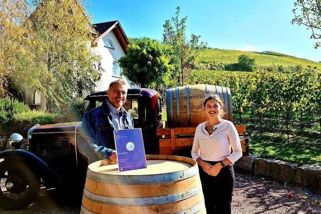 Gebietsweinprämierung 2020 - Ehrenpreis für das Weingut Wiedemann