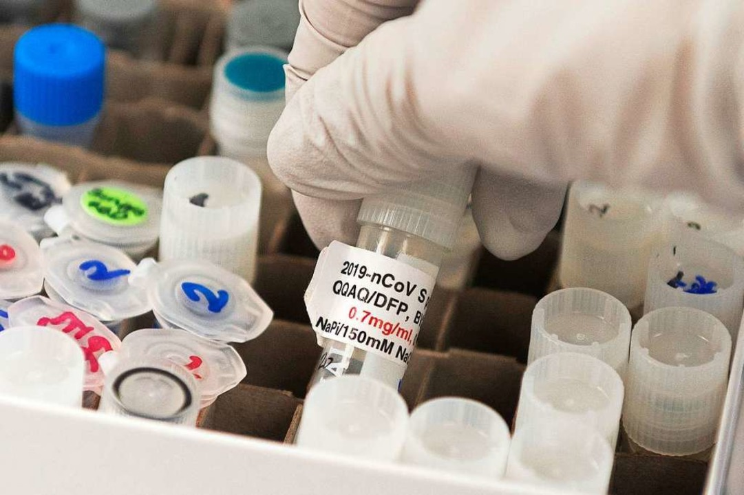 Die Forschungen an einem Impfstoff gegen Covid-19 schreiten voran (Symbolbild)  | Foto: ANDREW CABALLERO-REYNOLDS (AFP)