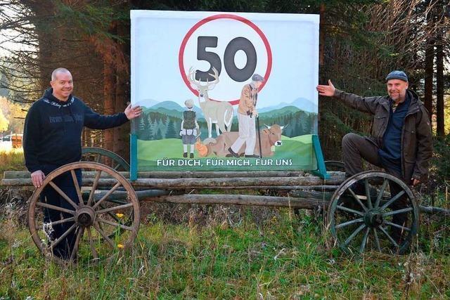 Nur noch Tempo 50 an der Kreuzung