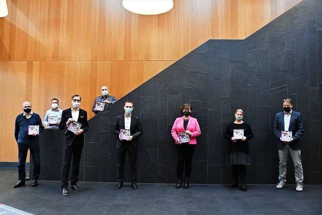 Das neue Lörracher Stadtbuch thematisiert die Corona-Pandemie