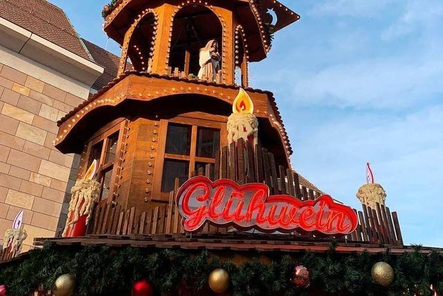 OB Steffens hält am Konzept für den Offenburger Weihnachtsmarkt fest