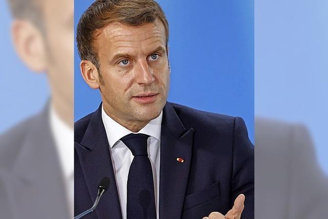 Macron greift Kramp-Karrenbauer an