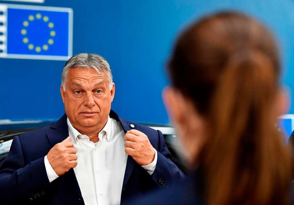 Ungarns Ministerpräsident Viktor Orban  | Foto: JOHN THYS (AFP)