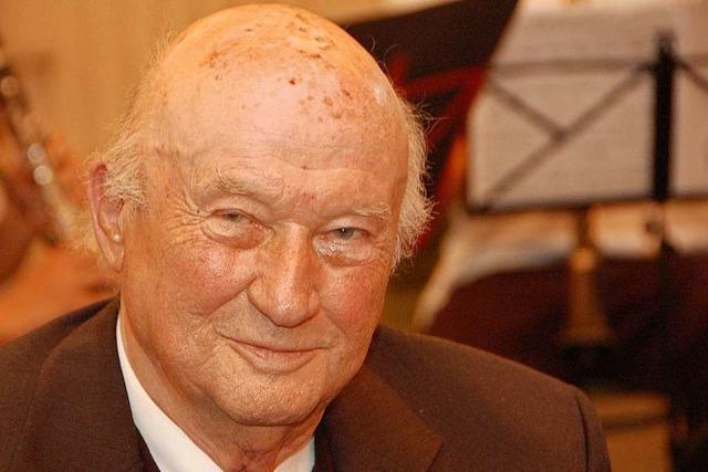 Der Lörracher Gerhard Kilian ist gestorben