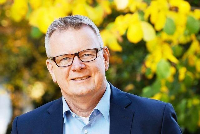 Amtsinhaber Dirk Blens ist erster Bewerber für Bürgermeisterwahl