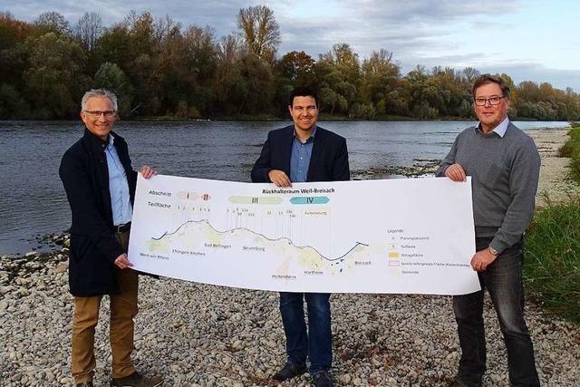 Regierungspräsidium, Gemeinde und Bürgerinitiative einigen sich bei Hochwasserschutz
