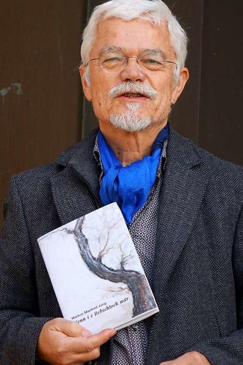 Markus Manfred Jung und sein neues Buch  | Foto: Roswitha Frey