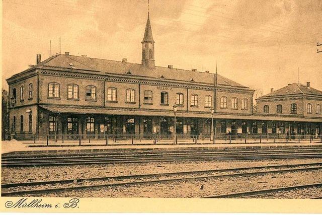 Bahnhof war schon immer ein wichtiger Knotenpunkt in eigentümlicher Lage