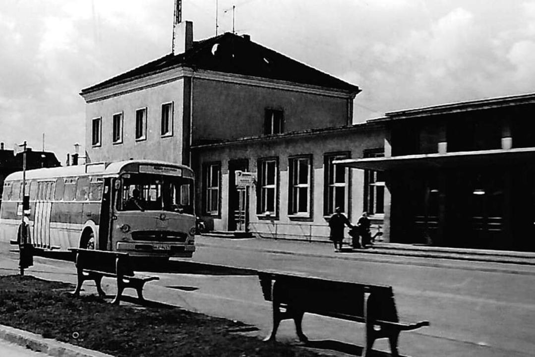 Der Nachkriegsbau in einer Aufnahme um 1955. Das Foto stammt von Ernst Kruse.  | Foto: Markgräfler Museum Müllheim