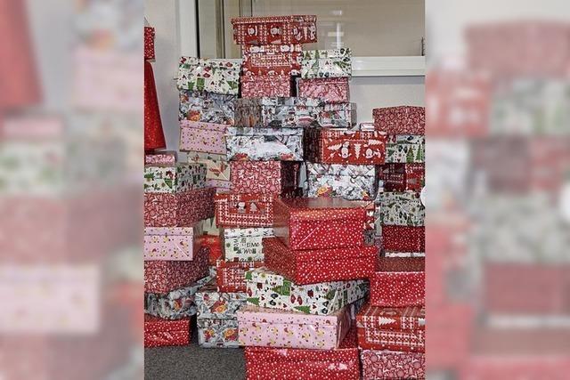 Wer möchte etwas schenken?