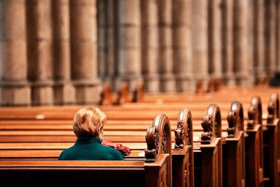 Allein in einer Kirche.  | Foto: Oliver Berg