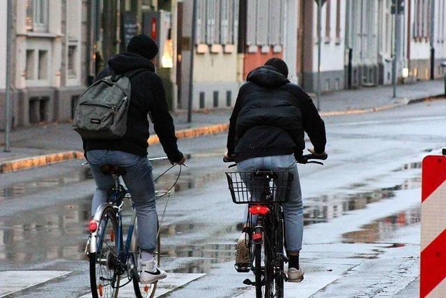 Am Donnerstag wird in Lörrach über ein Radfahrverbot in der Fußgängerzone entschieden