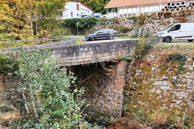 Wegen einer maroden Brücke muss der Kindergartenneubau verschoben werden