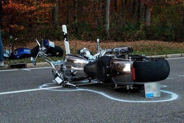 Die Zahl der Motorradunfälle stagniert im Kreis Lörrach in dieser Saison