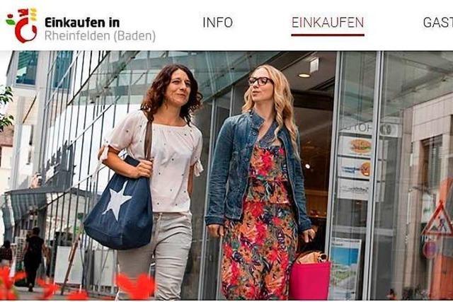 Der Rheinfelder Einzelhandel hat ein neues Schaufenster im Internet