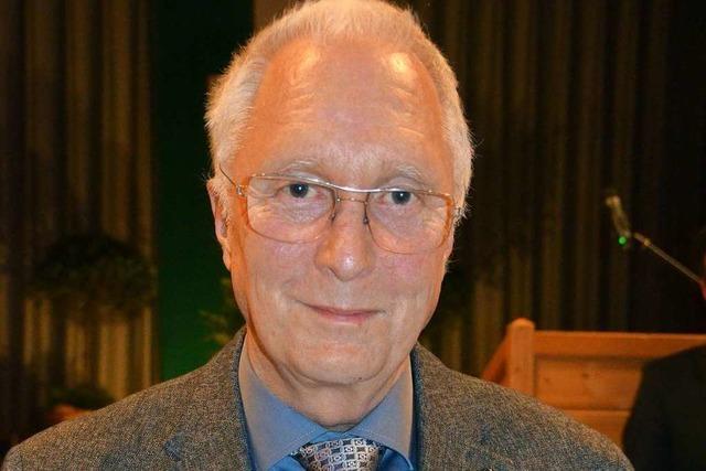 Staufermedaille für Helmut Eckert
