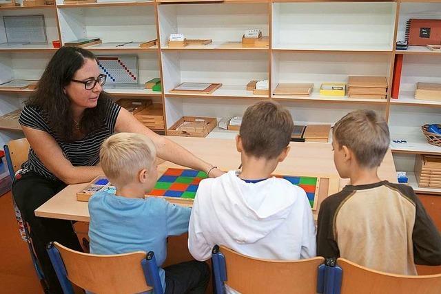 Stadt fördert Erweiterung des Montessori-Zentrums - für 16 Millionen Euro soll ein Schulneubau mit Turnhalle entstehen