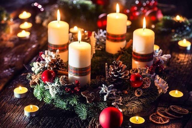Binden und schmücken Sie Ihren ganz persönlichen Adventskranz!