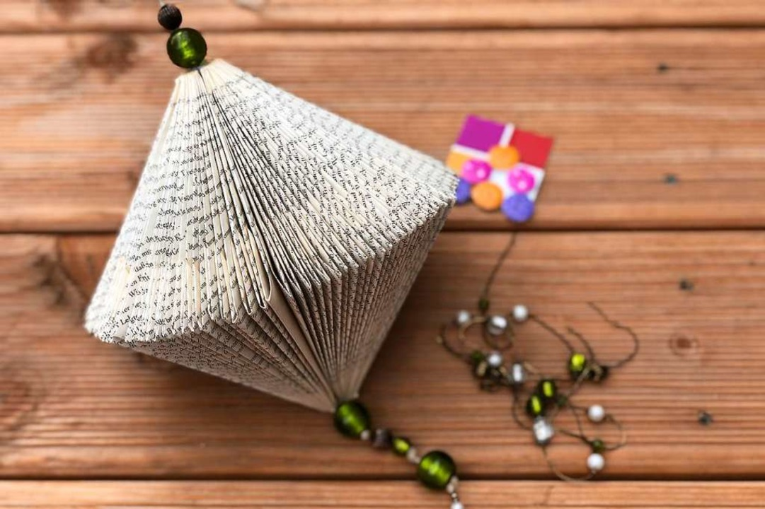 Bezaubernd und außergewöhnlich: ein Buchdiamant  | Foto: Tina Engelhard (drehpunkt GmbH)
