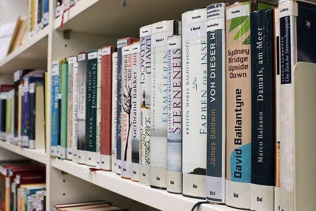 Auch die Bücher in der Lörracher Stadtbibliothek müssen in Quarantäne
