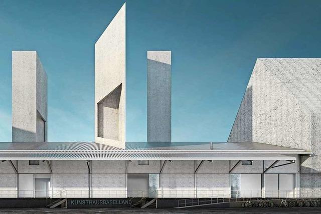 Auf dem Dreispitzareal entsteht das neue Kunsthaus Baselland