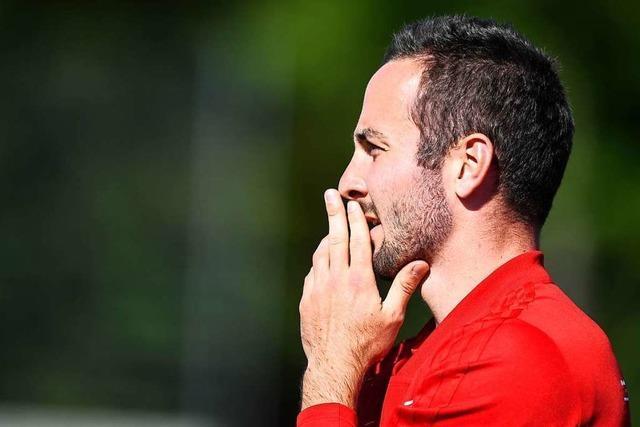 Beim Freiburger FC klettert der Chef in schwindelerregender Höhe