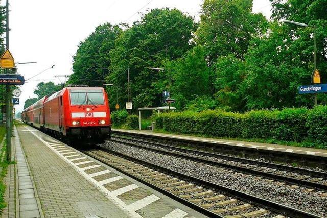 In Gundelfingen halten wieder mehr Regionalzüge
