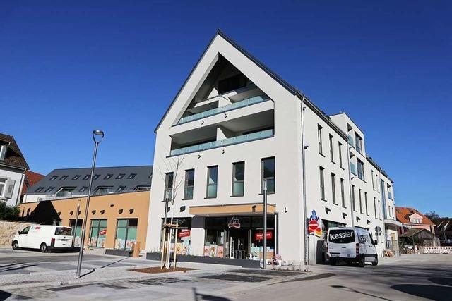 Neues Wohn- und Geschäftsgebäude auf Müllheimer Tenckhoff-Areal ist (fast) fertig